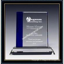 """Plaque de récompense en cristal de saphir carré 7 """"H (NU-CW713)"""