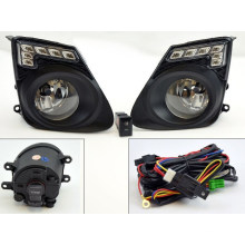 11-13 LED Toyota Corolla Jdm Front Bumper Fog Lights Lamps Wiring Switch Kit