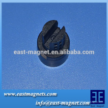 Ferritmagnet mehrere Pole für elektrische Instrumente / anisotroper Ring Ferrit Magnet Hersteller