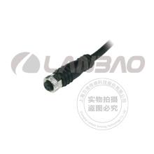 Разъем Lanbao M8 с 2-метровым кабелем PVC 4pins