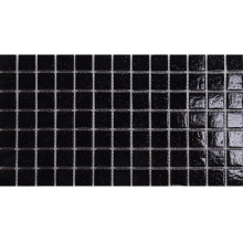 Classic Style Floor and Wall Decoration Black Mosaic Tile Sheets