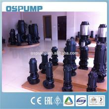Sewage Pump QW non-clogging centrifugal submersible agitator sewage pump