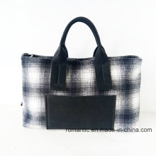 Großhandel Designer stilvolle Frauen Leinwand Handtaschen (P-1012)