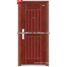 Commercial Exterior Steel Security Door KKD-315 With CE,BV,TUV,SONCAP