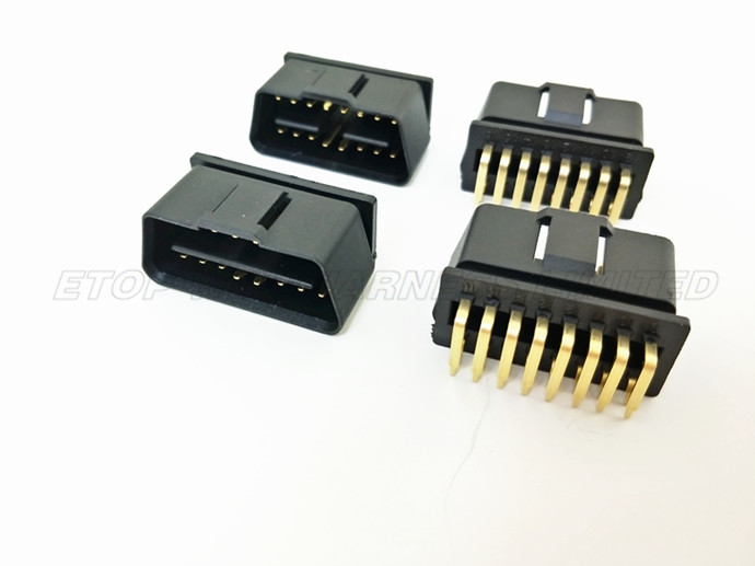 OBD Gold-plated pins