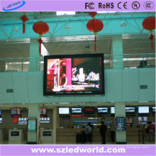 P6 полноцветный светодиодный дисплей экран панели для внутренней рекламы