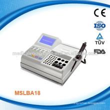 MSLBA18W Analyseur de coagulomètre de sang le plus récent et avancé avec quatre canaux