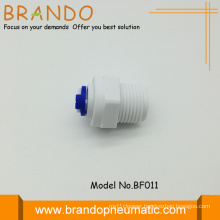 "Pom Straight Plastic Male adapter 1/4"""
