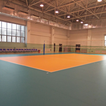 Plancher de PVC professionnel de volley-ball