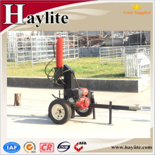 home used wood vertical screw hydraulic log splitter for tractors With Professional Technical Support