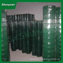 China alibaba galvanizado soldado rolos de malha de arame (fabricante da china)