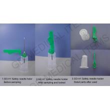 Medizinischer Nadelhalter mit Sicherheitsabdeckung