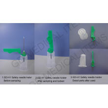 Medical Needle Holder with Safety Cover