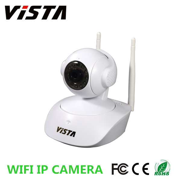 720p Wireless Pan Tilt Indoor Remote P2P IP-Überwachungskamera