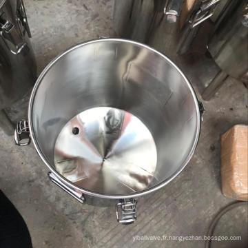 Brassage maison bière en acier inoxydable 30L tun