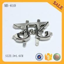 MB610 Серебряная металлическая сумка аксессуар дешевая и популярная паспортная табличка