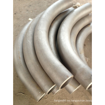 Bw Seamless 6D 90 grados de acero inoxidable Bends