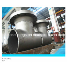 DIN Carbon Steel Butt Welding End Tee Strainer