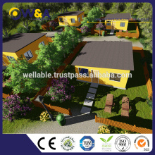 (WAS1012-36S)China Light Steel Structure Prefab Bungalow House Manufacturer