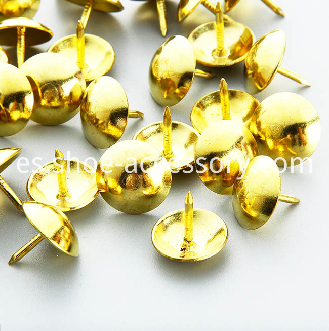 10.5x9mm Gold Upholstery Tacks