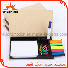 Kraft Paper Memo Pad with Pins for Office Work (GN007)