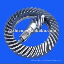 Conjunto de piñón y rueda dentada de recambios para autobús yutong EQ 153
