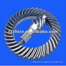 yutong bus spare partsring and pinion gear set EQ 153