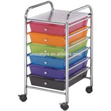 12-Drawer Rolling Storage Cart