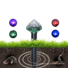 Sonic Electronic Gopher Ultrasonic Caser Device and Solar Powered Pest Mole Repeller