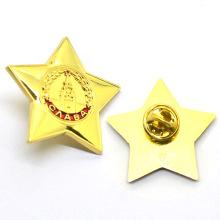 Завод прямых продаж мини морская звезда пользовательские формы звезды металл нагрудным знаком
