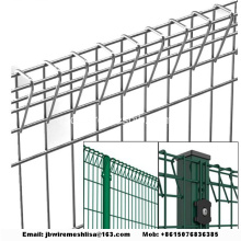 Welded Wire Mesh Panel Pagar Rolltop
