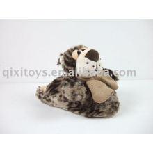 chaussures de l'enfant en peluche, pantoufle intérieure douce d'hiver