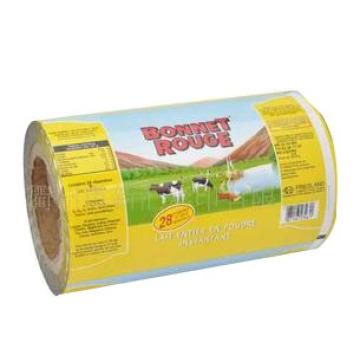 Filme de leite em pó / filme de embalagem de leite / filme de rolo de comida