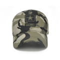 Casquette de golf adulte Jacquard Patch Patch Camo