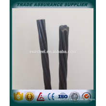 China top quality 15.2mm pc steel strand manufacturer/12.7mm pc strand