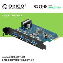 ORICO PVU3-4P USB2.0 to USB3.0 Desktop USB3.0 PCI-Express Card
