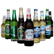 Lámina de aluminio para el cuello de la botella de cerveza