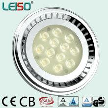 80ra com alta luminosidade substituição 100W halogênio LED AR111 (J)