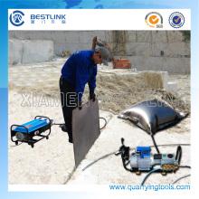 Factory Price Granite Block Pushing Steel Cushion for Quarry