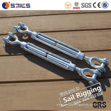 Drop Forged Carbon Steel Wire Rope Turnbuckle with Jaw&Jaw