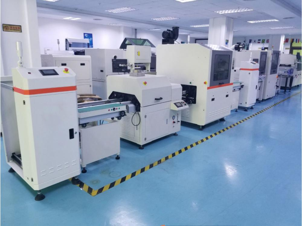 Smt Pcba Coating Line Conformal Coating Machine For Pcba Factory