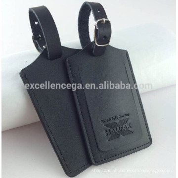 engraved leather luggage tags gift idear