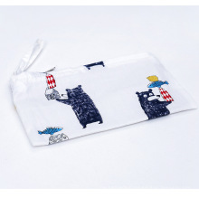 Custom OEM printed cute small pouch cosmetic bag