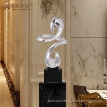 Высокое качество смолаы крест абстрактной скульптуры для украшения интерьера