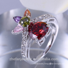 2018 dubai wedding jewellery 18 karat gold plated ring