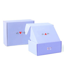 Customized Printed Marble Corrugated Shipping Box