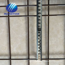 PVC coated welded iron wire mesh panels green panel good price welded mesh panel