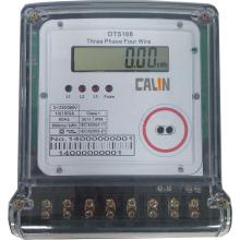 3 Phase 4 Drähte Elektrisches Energiezähler mit Multi Tarif