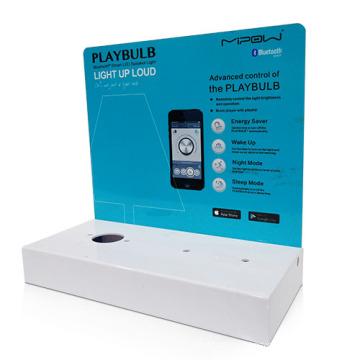 Bespoke Acrylic Display Holder for Bulbs, Acrylic Counter Display