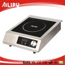 ETL cETL Approved 1800W 3500W Cocina de inducción comercial con perilla de control Sm-A80